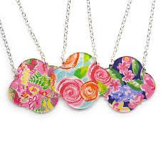 necklace blanks pattern in quatrefoil 10 pack