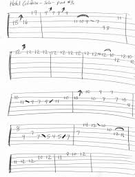 This song contains guitar tab for verses and chorus. Hotel California Solo Guitar Tab Part 3 Guitar Tabs Guitar Tabs And Chords Guitar Tabs Songs