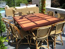 beautiful patio dining table furniture 20 pretty images diy outdoor dining table diy exterior decor images