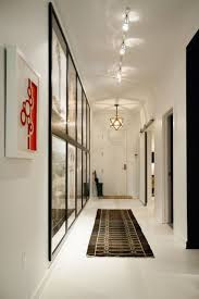 hallway track lighting. Track Lighting Featuring Artwork In The Hallway R