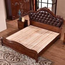 solid wood beds. Plain Wood Bedroom Furniture Solid Wood Bed Leather BedBedsNOFRAN Electronics U0026  Furnitures Intended Beds