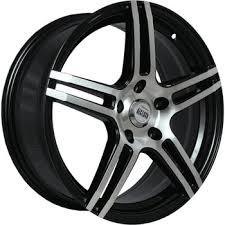 Wheel disc ALCASTA M36 <b>6.5x16/5x114.3</b> D67.<b>1</b> ET38 Black - buy ...