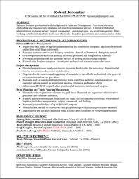 Good Sample Resume Good Resume Sample Free Resumes