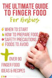 finger food for es the ultimate