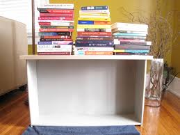 books are perfect to stack on the shelf to ensure connectivity between the drawer material and