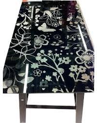 glass desk tops flowers black ideas top ikea inside plan 18