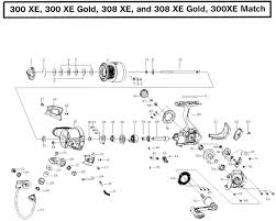 300xe mitchell reel talk community the mitchell reel museum shakespeare fishing reel replacement parts at Okuma Reel Parts Diagram