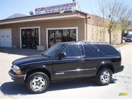 2001 Onyx Black Chevrolet Blazer LS 4x4 #29536879 | GTCarLot.com ...