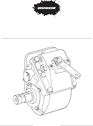 manual de partes pto muncie tg series documents tg series pto