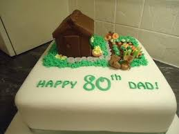 80th Birthday Cake Ideas Male Coolest For Granny Pannyme