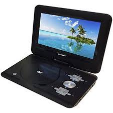 how to connect a dvd player to a pc monitor sylvania 10 inch portable dvd player swivel screen car adapter in black