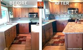 great kitchen paint colors with light oak cabinets wood design