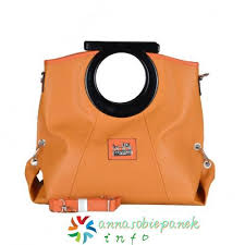 Coach Logo Medium Totes Orange