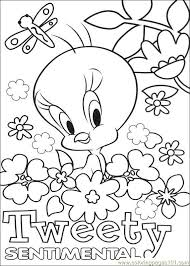 Small Picture Tweety 64 Coloring Page Free Tweety Bird Coloring Pages