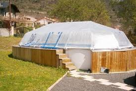 All Vinyl Pool Dome for 15 x 30 Oval Above Ground SD201530