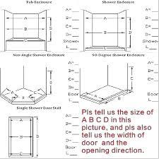 standard shower width shower door width door height code minimum shower door width code best of