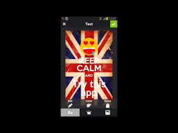 How To Make A Keep Calm Poster Keep Calm Generator Apps On Google Play