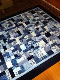 Kate's quilt using Yellow Brick Road pattern | My quilts ... & Kate's quilt using Yellow Brick Road pattern Adamdwight.com