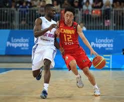 Ogo Adegboye, Yu Shulong - Ogo Adegboye Photos - LOCOG Test Events for  London 2012 - London International Basketball Invitational: Day Five -  Zimbio
