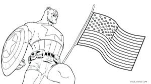 Captain America Colouring Pages Printable Coloring Pictures To Color