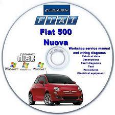 fiat 500 nuova 2 elearn english german french spanish italian fiat 500 nuova 2 elearn english german french spanish italian repair manual cd