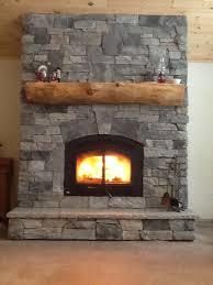 granite stone veneer on wood burning fireplace fireplaces with e63 stone