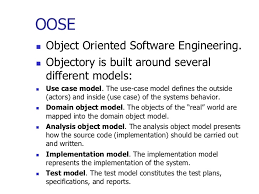 object oriented methodologies 32
