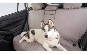 new for 2020 subaru rear seat cover