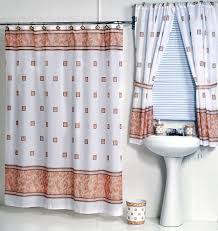 windsor ivory fabric shower curtain