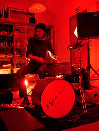 Andrea Belfi playing live at il Circolo, Mariano Comense