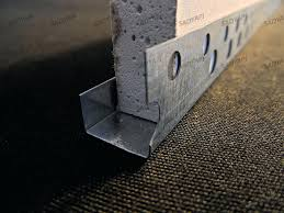 drywall u trim edge beads bead corner install profile