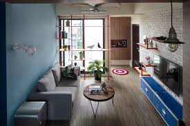 Quirky Living Room Superhero Living Room Interior Design Ideas