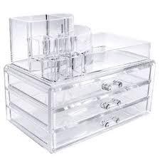 3 large drawers makeup organizer