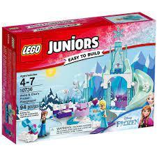 Đồ chơi LEGO JUNIORS - Lâu Đài Băng Giá Của Elsa - Mã SP 10736