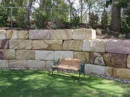 sandstone retaining wall blocks design