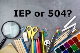 504 plan or iep
