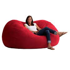 xl fort suede bean bag sofa walmart