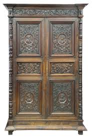 french renaissance style carved oak armoire for sale at stdibs