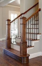basement stairs railing. Wooden Stair Railings Design Love This Dark Wood Step With White Baluster  Ideas Railing Staircase Designs . Basement Stairs H