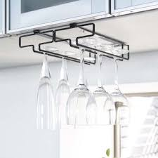 Metal wine glass rack Storage Quickview Wayfair Wine Glass Racks Youll Love Wayfair