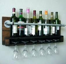 hanging wood wine rack wall mount wine glass holders wine rack shelf wall mounted wine rack with glass holder wall wall mounted wooden wine glass rack