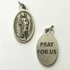 picture of st raphael the archangel medal angel of healing