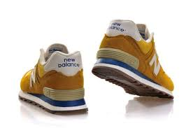 new balance trainers womens. outlet new balance nb 70s running 574 classics womens trainers yellow gold white zcb1105461 r