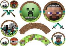 Minecraft Party Free Printable Wrappers And Toppers Oh My Fiesta