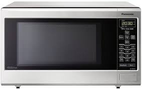 panasonic microwave oven nn sn643saz stainless countertop built in with inverter technology