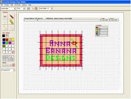 Crochet Charts Software Free Creative Design Chartmaker Create Design Charts For