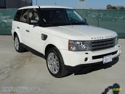 2009 Land Rover Range Rover Sport HSE in Alaska White - 210184 ...