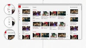 Cover App Windows Design Concept Shows What Youtube Would Look Like As A Windows 10