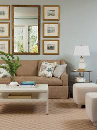 Light Blue Color Scheme Living Room Light Blue Walls Are Paired With Neutral Furniture And Accessories