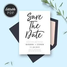 Save The Date Cards Template Save The Date Card Templates Wedding Save The Dates